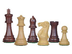 Perfect Tournament Chess Set Pieces Imperial Staunton Rosewood/Boxwood 4""