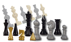 Artistic Chess Pieces