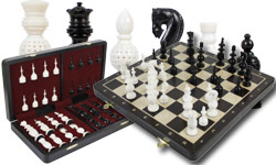 Bone Chess Sets