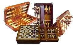 Chess Backgammon Sets