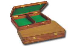 Wooden Flat Chess Boxes