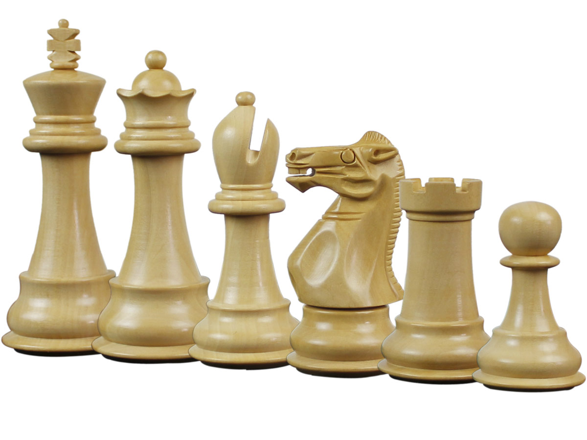 Splendid Staunton Boxwood Chess Pieces