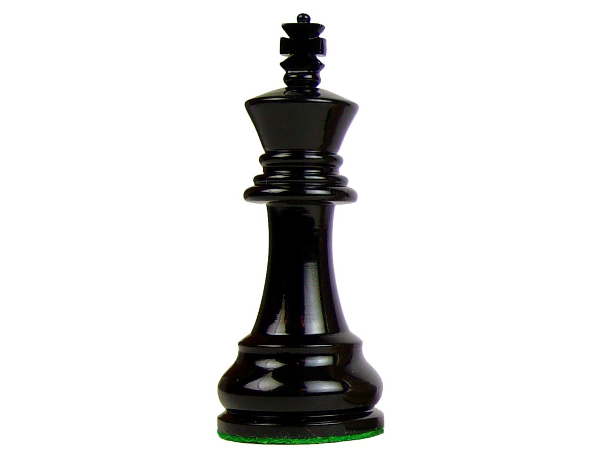 Monarch Staunton Wooden Tournament Chess Pieces King Size ...