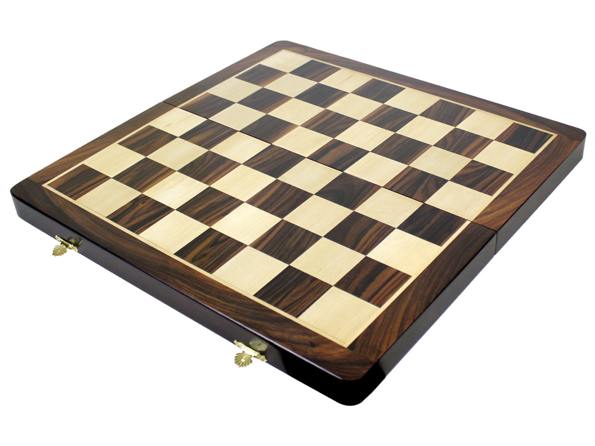 Rosewood / White Maple Chess Board