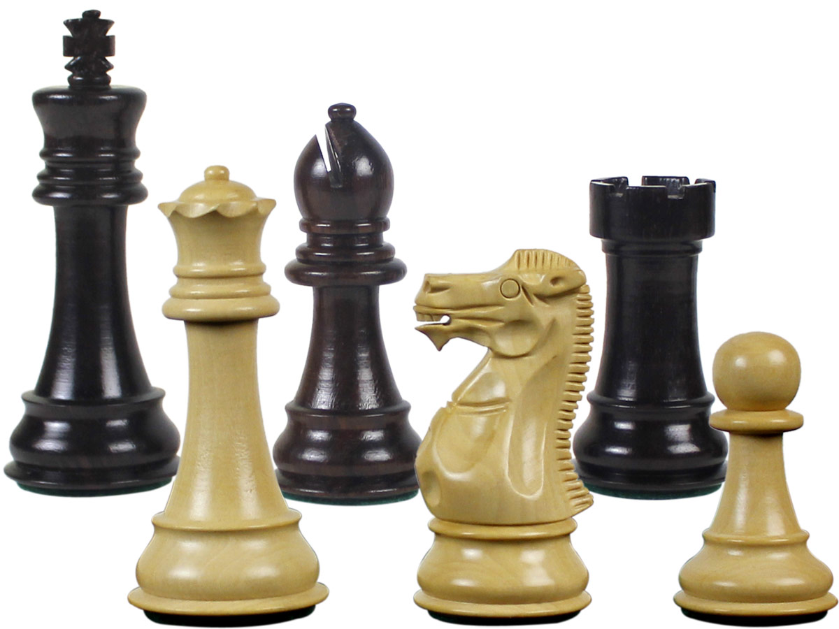 Imperial Staunton Chess Set Pieces King Size 4inch