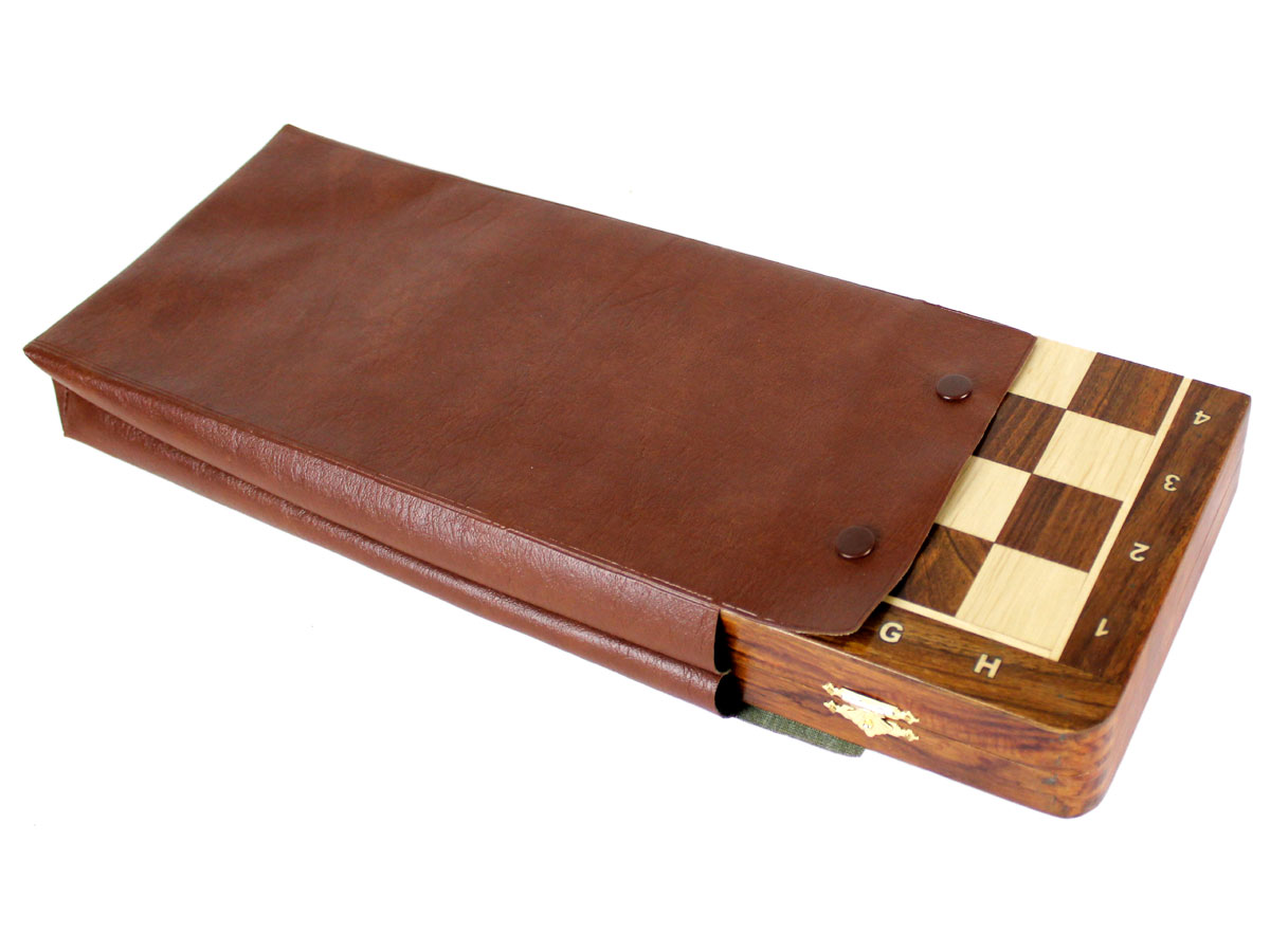 Simulated Leather cover for chess set