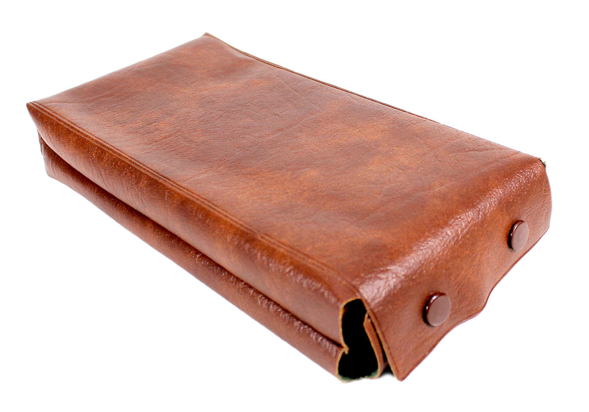 Leatherette case provided for extra protection and safety of the Chess board.