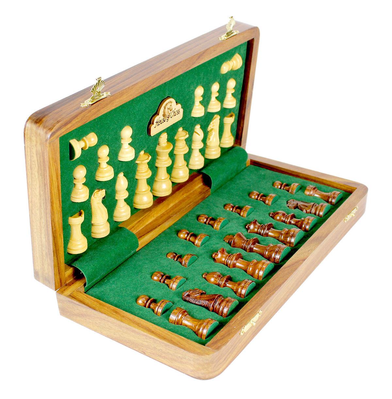 Chess Set Half Folded Position