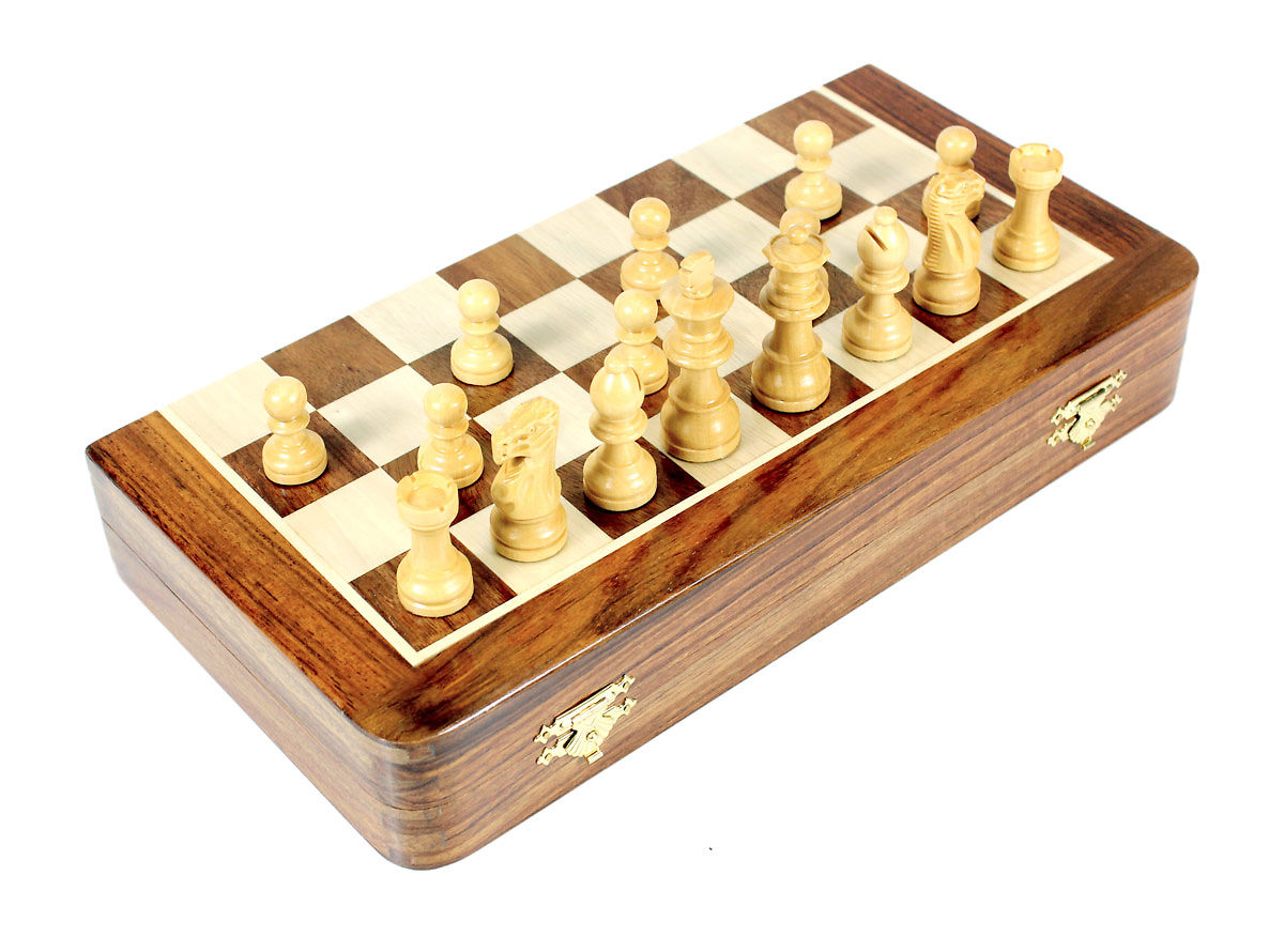 Folding Chess Board / Box in Closed Position
