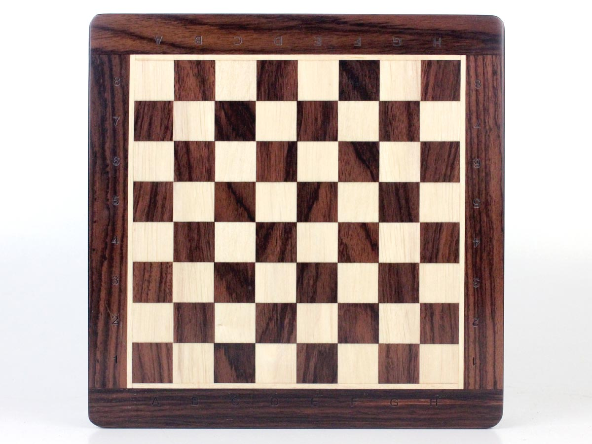 Standard Algebraic Notation (SAN) has been Deep Engraved on the Chess Board