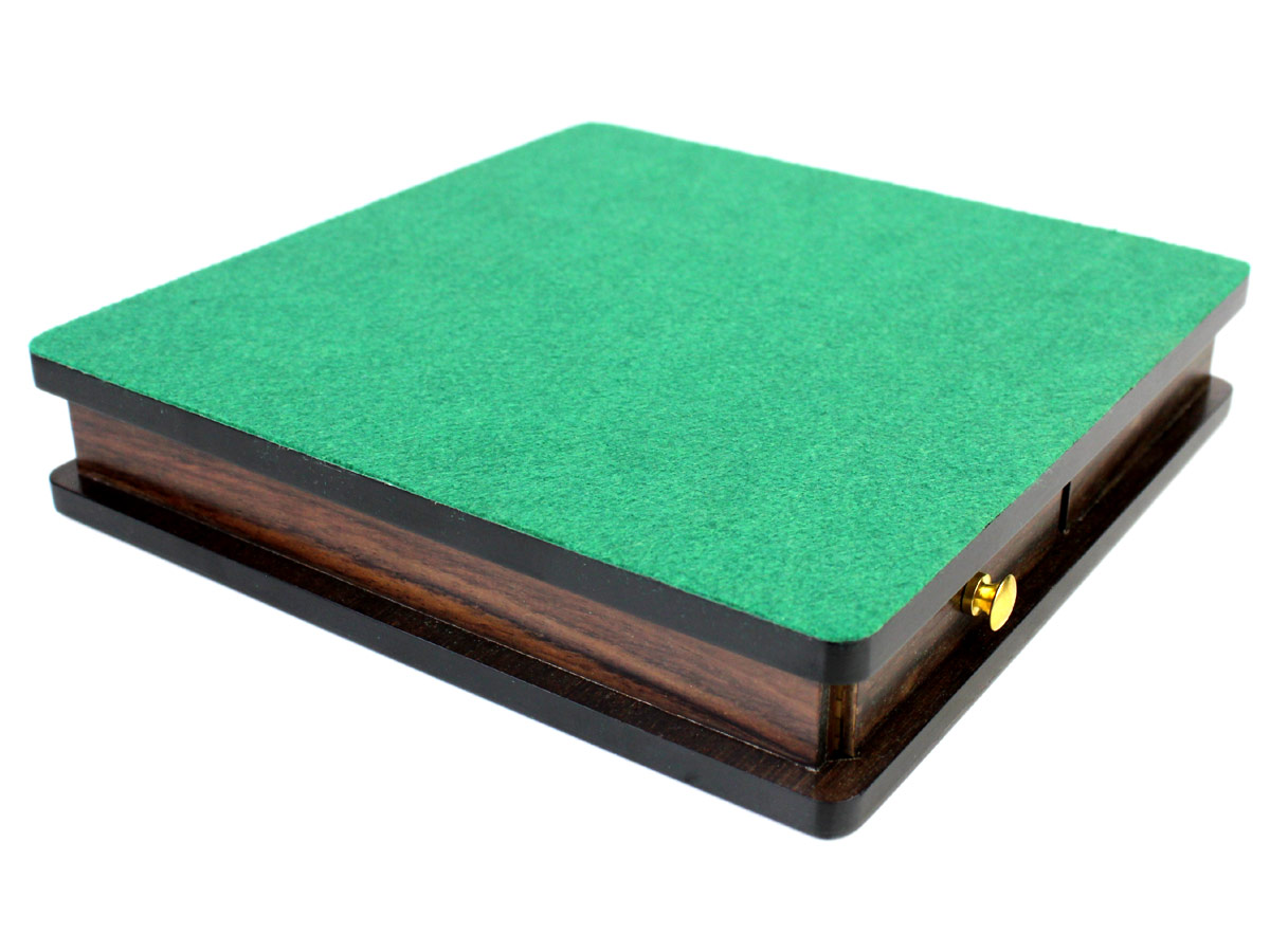 Billiard Cloth Green Felt on the back of Chess Board