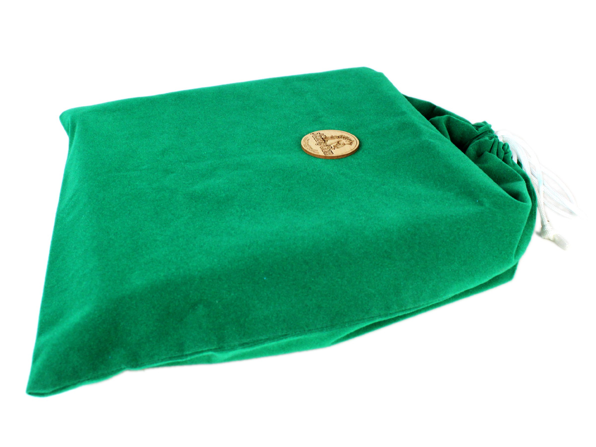 Protective DrawString Velvet Bag provided with the Chess Set