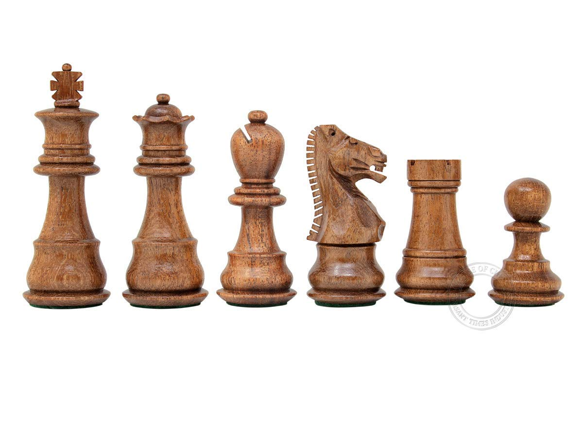 Galaxy Staunton Ringy Rosewood Chess Pieces