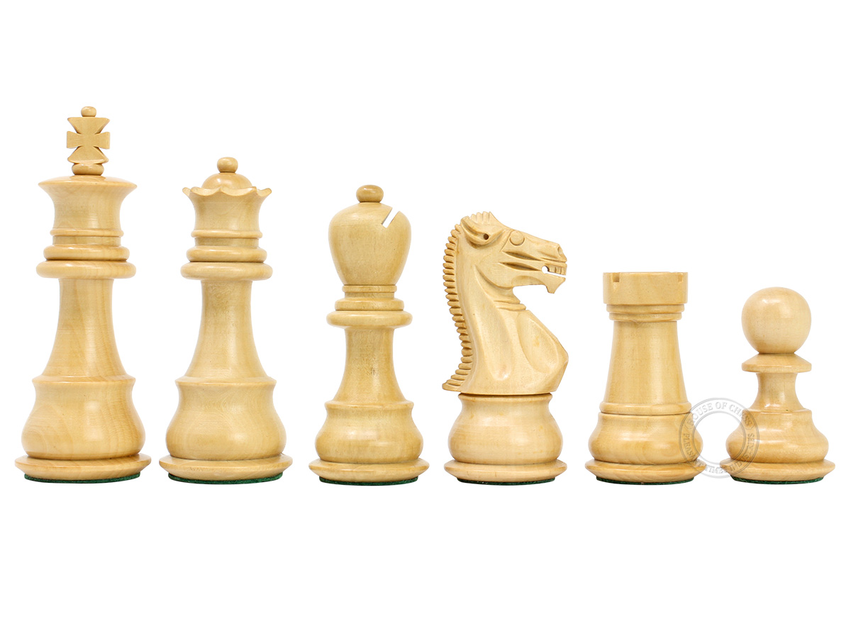Galaxy Staunton Boxwood Chess Pieces