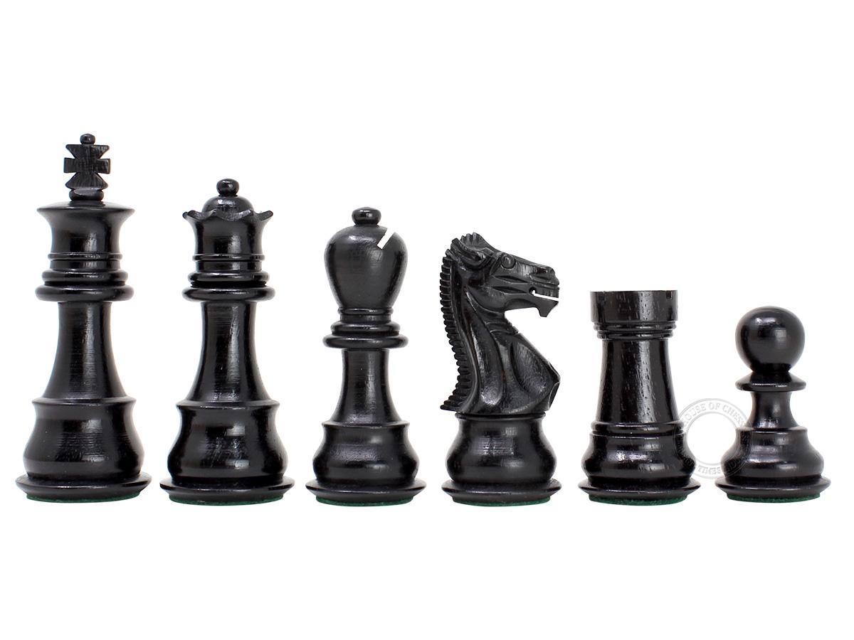 Galaxy Staunton Ebonized Chess Pieces