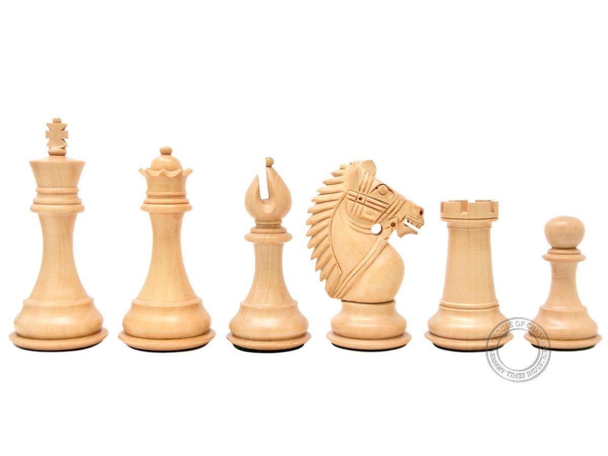 Rio Staunton Boxwood Chess Pieces