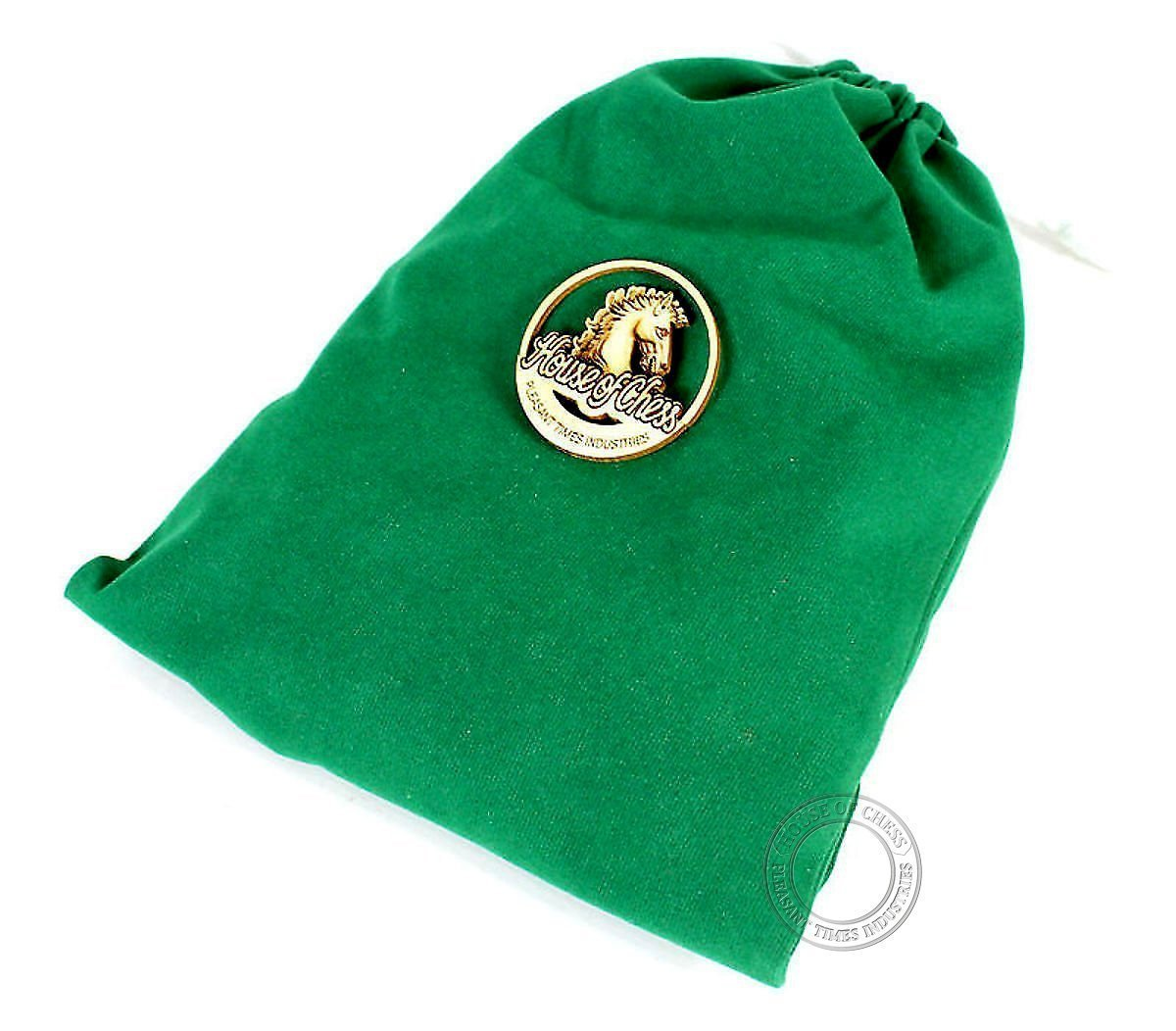 Velvet Pouch with House of Chess Logo