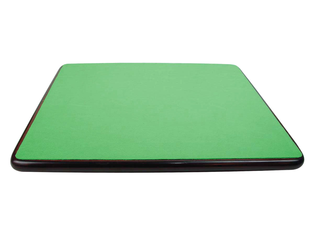 The Underside of the board is covered with green felt.