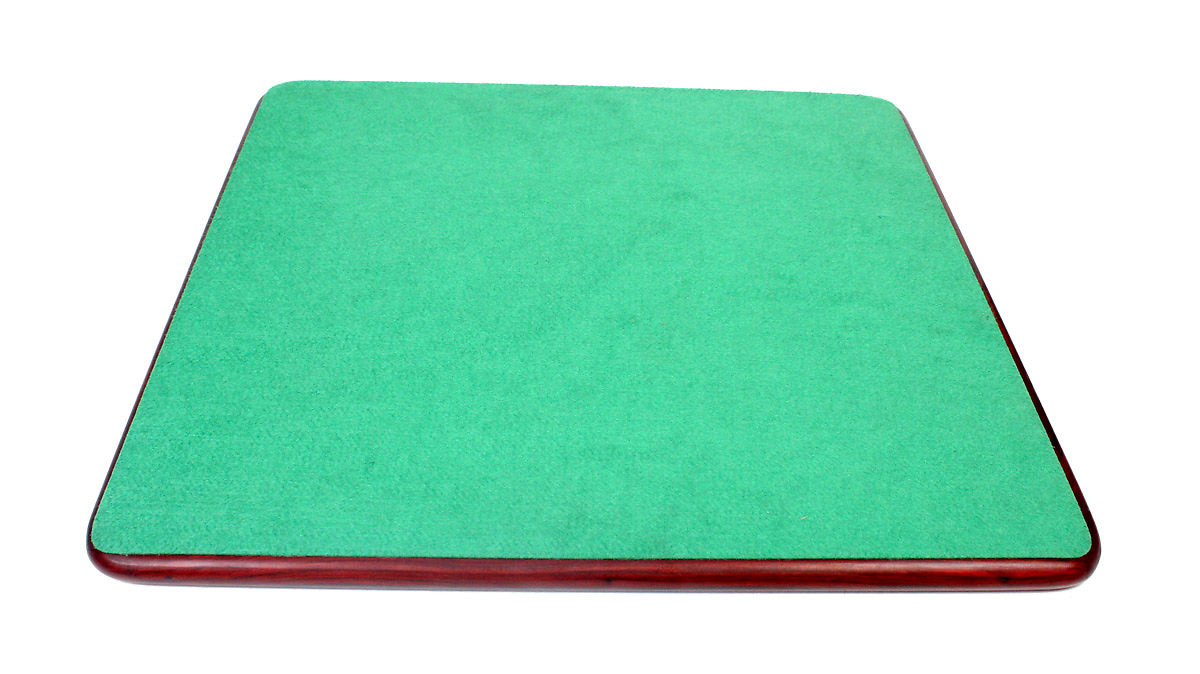 The underside of the board is covered with green felt