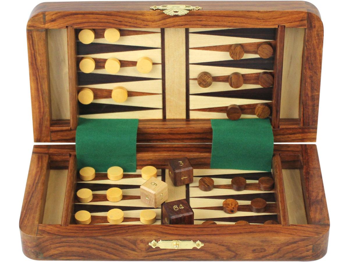 Backgammon board - half folded
