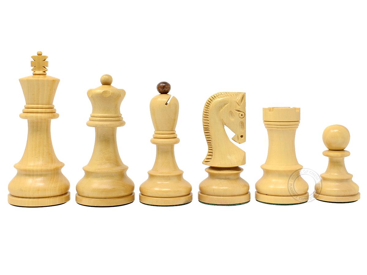 Yugo Staunton Boxwood Chess Pieces