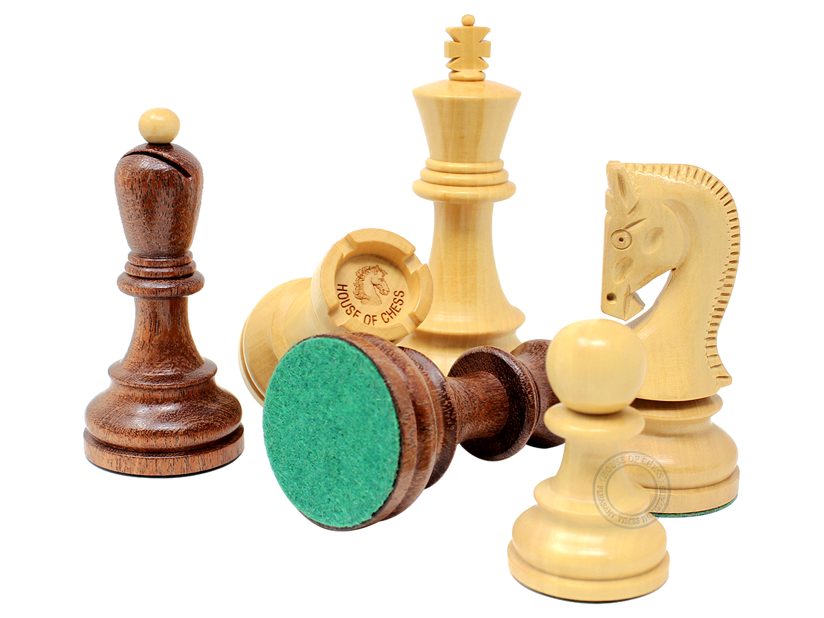 Yugo (Zagreb) Staunton Chess Pieces
