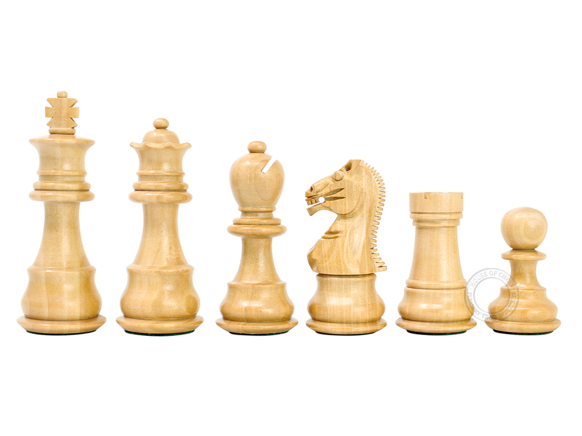 Galaxy Boxwood chess pieces