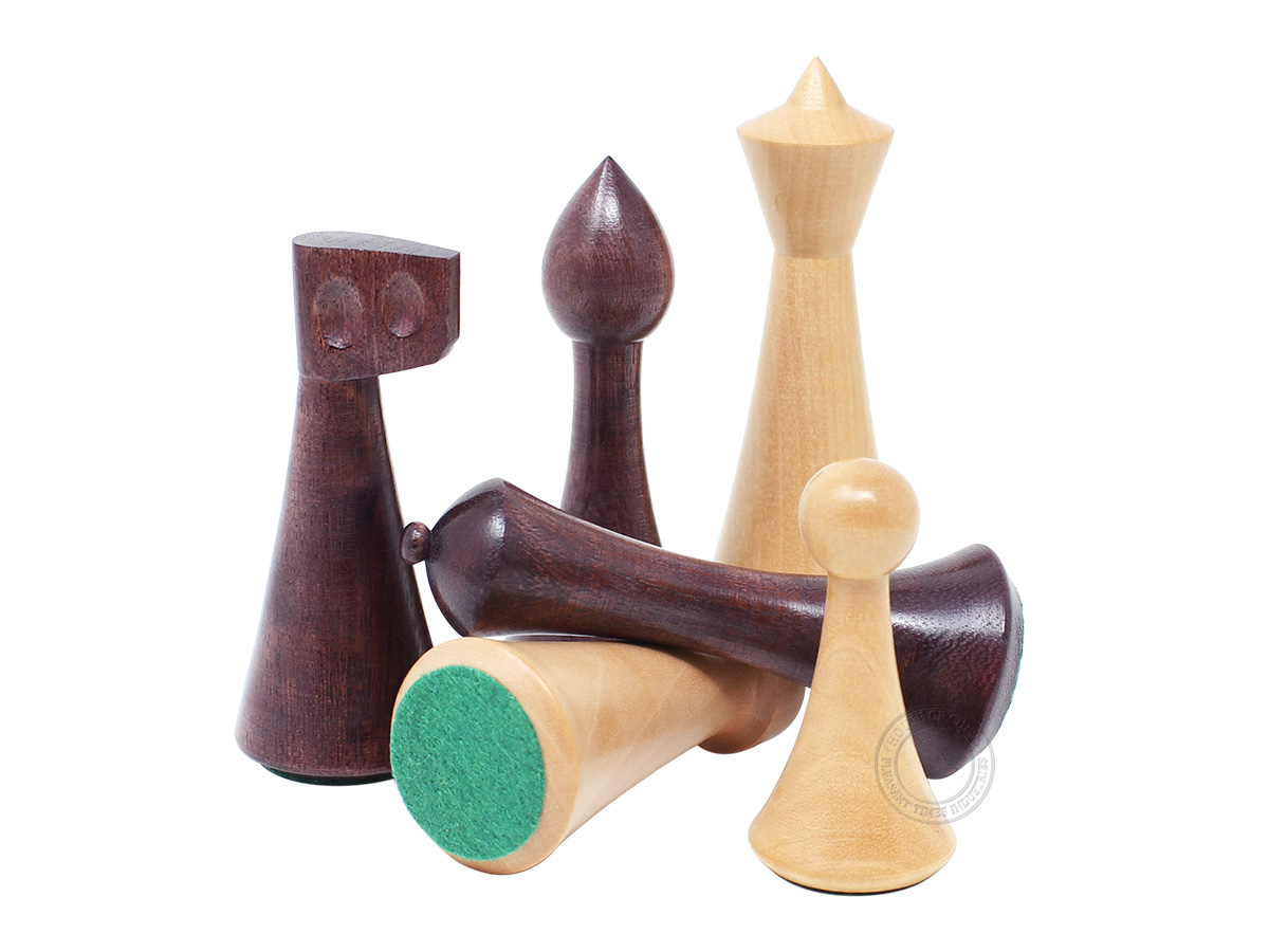 House of Chess Reproduced Abstract Design Chess Pieces
