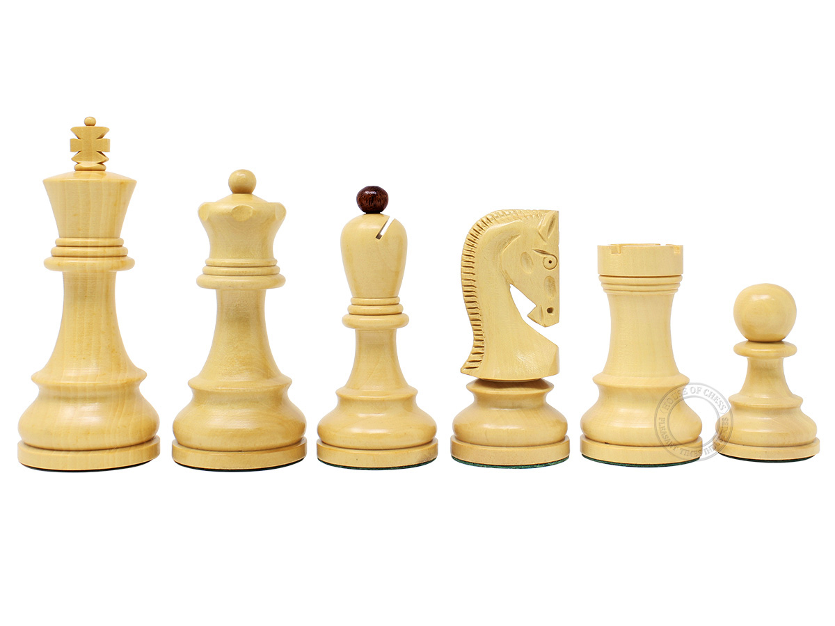 Yugo Staunton Boxwood Chess Pieces