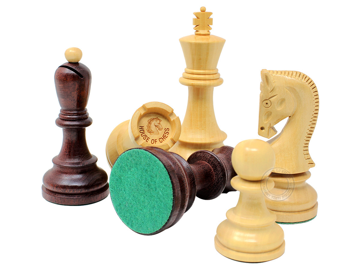 Yugo (Zagreb) Staunton Chess Pieces