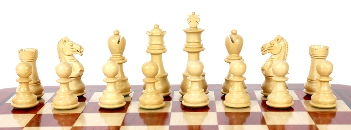 Our sale is for chess pieces only and the chess board is not included.