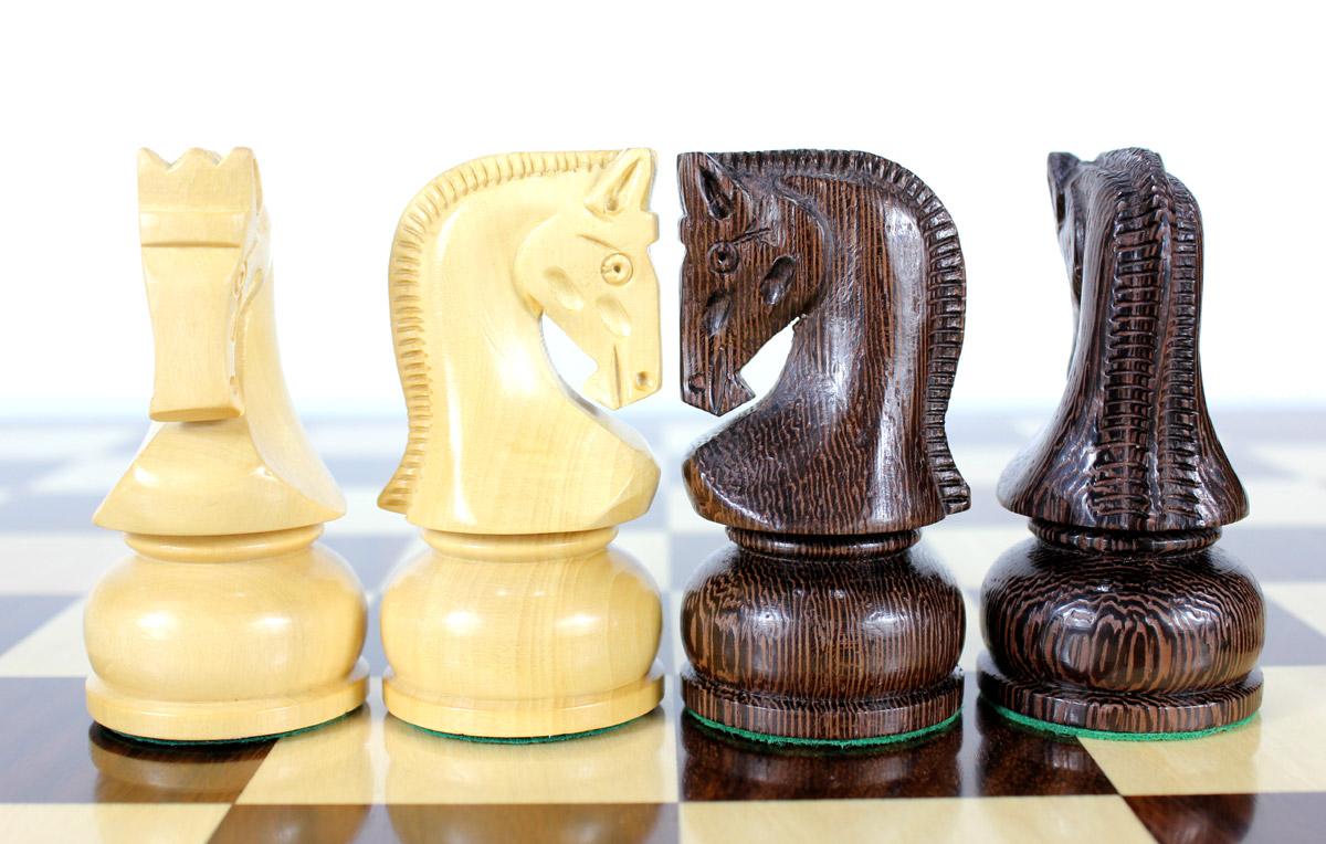 Zagreb Staunton high quality hand crafted Knights by master craftsmen.