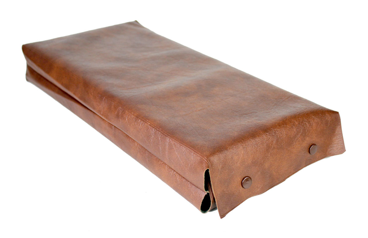 Simulated leather case provided for extra protection and safety of the Chess board