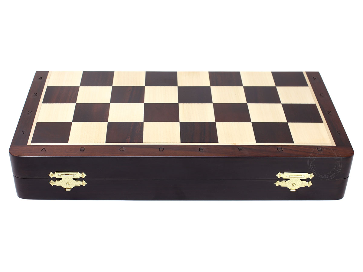 Engraved Algebraic notation. Weight of chess board is 2.976 lbs (1350 grams) (Excluding chess pieces)