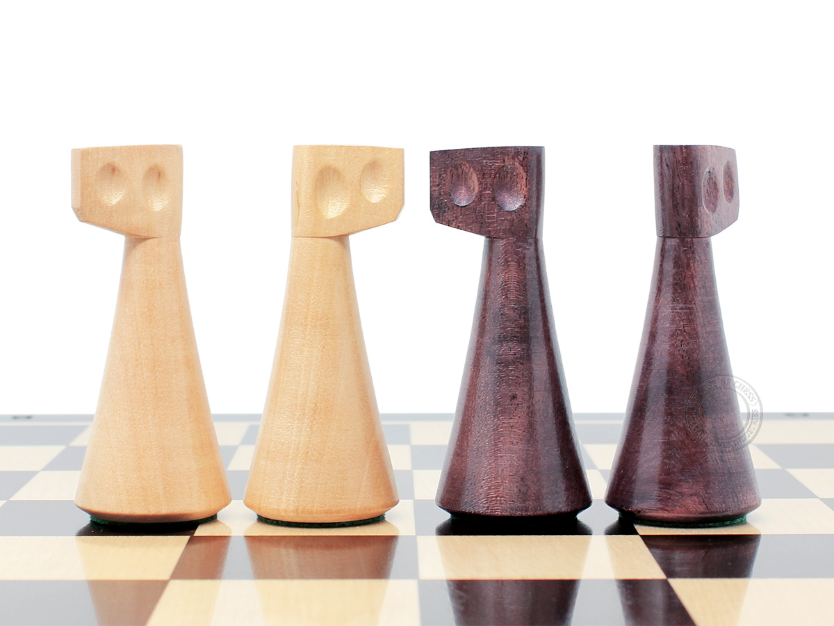 House of Chess Reproduced Abstract Design Knights