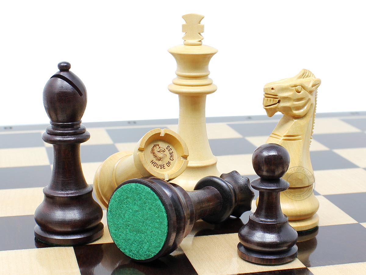 Unique Staunton Chess Pieces