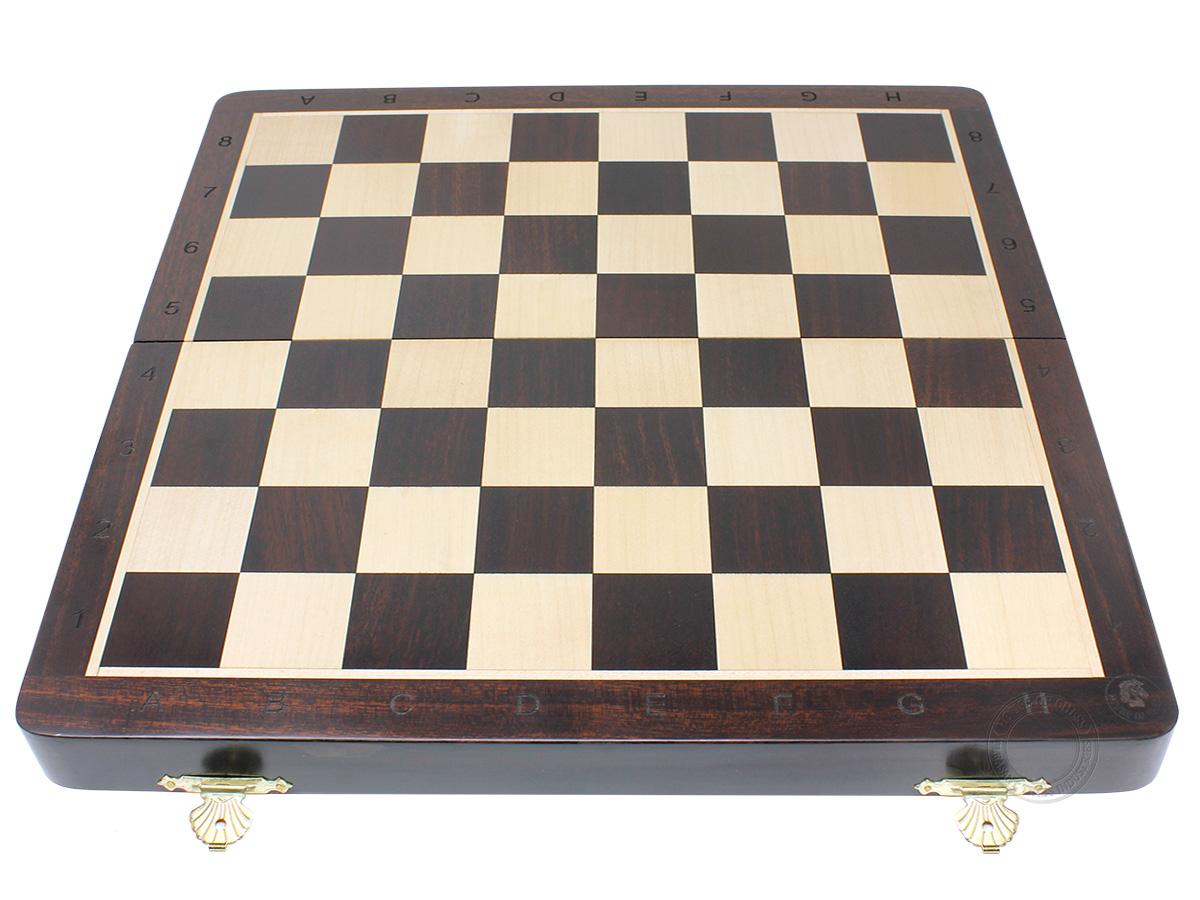 Flat layout of chess board
