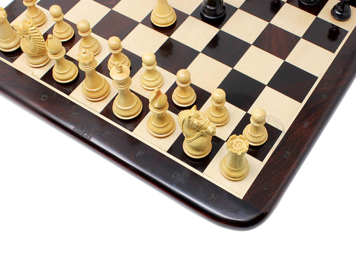 Rounded Edges of Chess Board