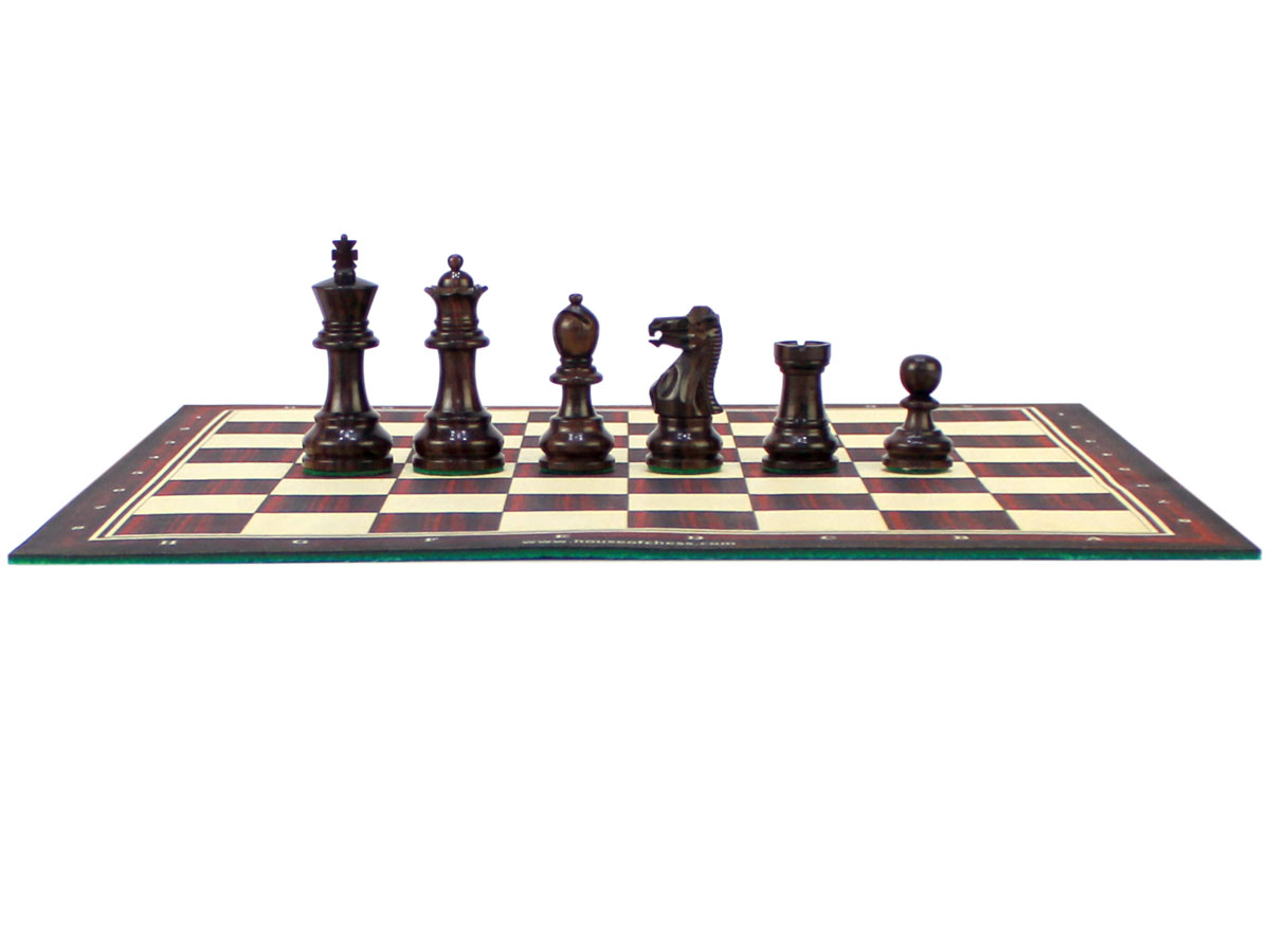 Monarch Staunton Rosewood Chess Pieces