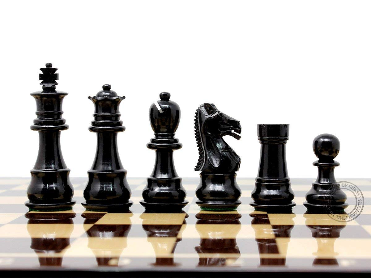 Ebony Wood Galaxy Staunton Chess Pieces