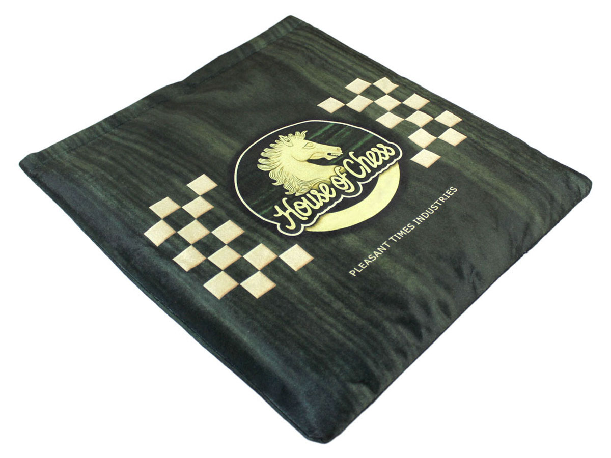 Protective cushioned chess board case with velcro lock provided free