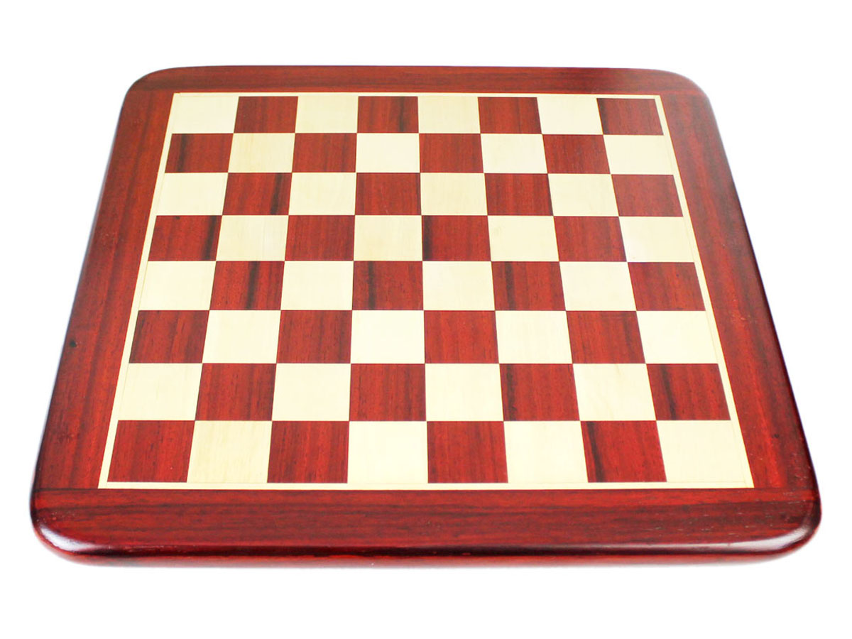 Flat Chess Board in Bud Rosewood and maple combination