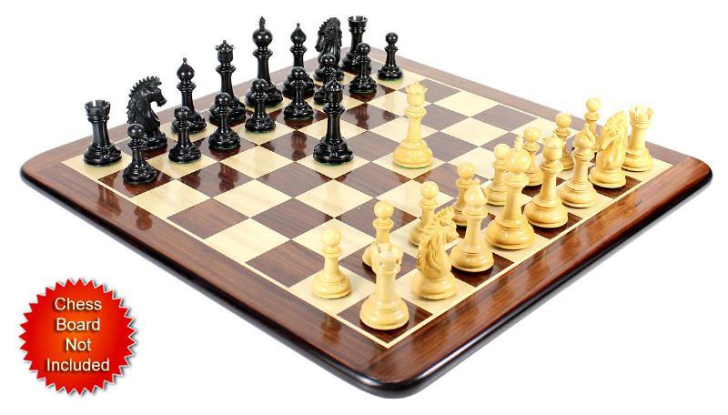 Ebony Wood Encore Staunton Wooden Chess Set Pieces 4 5