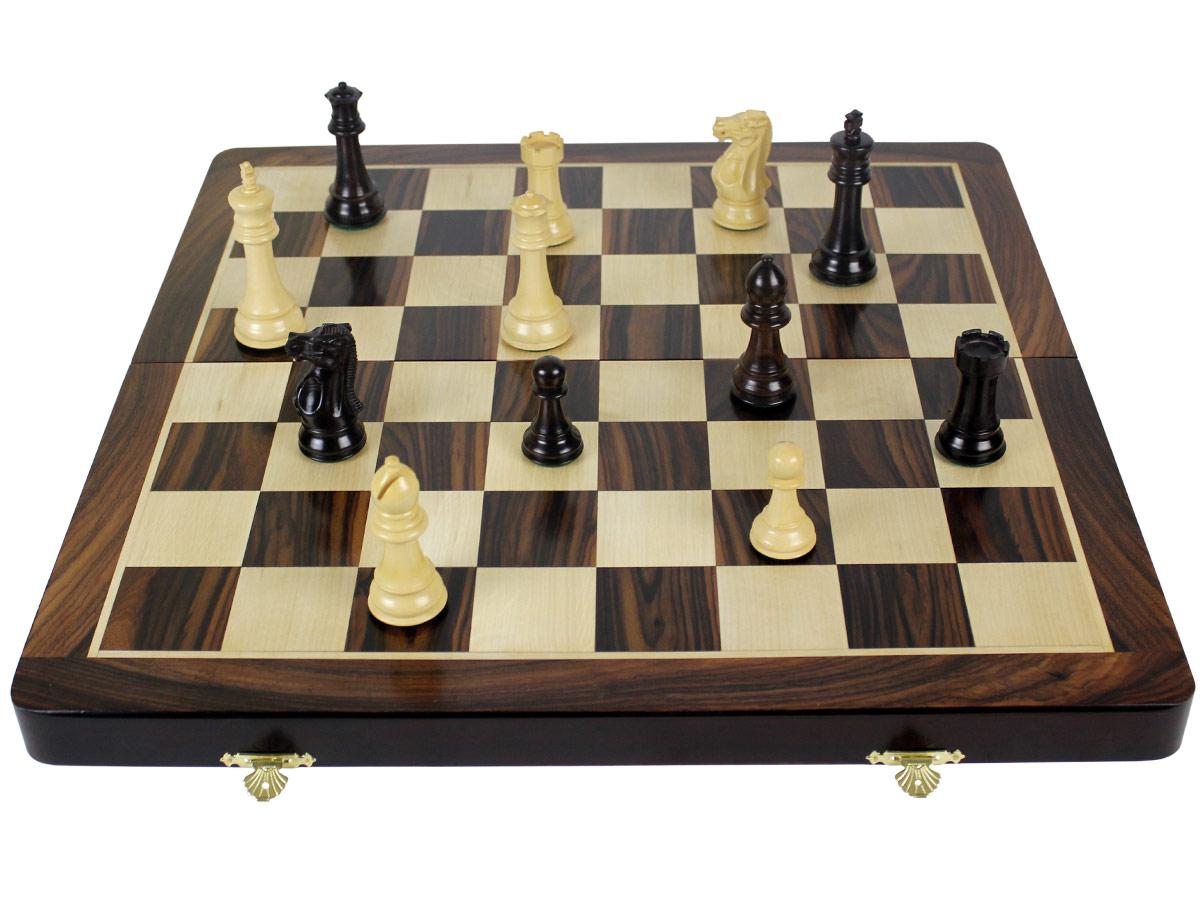 Details about Rosewood Folding Chess Board 20